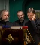 Божественную литургию Фоминой недели на петербургском подворье Коневской обители возглавил наместник монастыря _8
