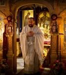 В праздник Рождества Иоанна Предтечи на петербургском подворье Коневского монастыря совершены праздничные богослужения._10