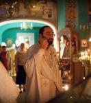 В праздник Рождества Иоанна Предтечи на петербургском подворье Коневского монастыря совершены праздничные богослужения.