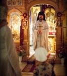 В праздник Рождества Иоанна Предтечи на петербургском подворье Коневского монастыря совершены праздничные богослужения._2