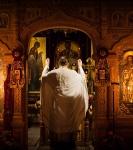 В праздник Рождества Иоанна Предтечи на петербургском подворье Коневского монастыря совершены праздничные богослужения._3