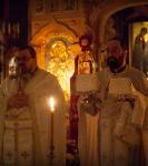 В праздник Рождества Иоанна Предтечи на петербургском подворье Коневского монастыря совершены праздничные богослужения._4