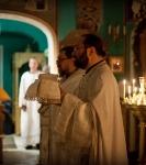 В праздник Рождества Иоанна Предтечи на петербургском подворье Коневского монастыря совершены праздничные богослужения._5