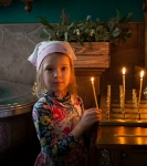 В праздник Рождества Иоанна Предтечи на петербургском подворье Коневского монастыря совершены праздничные богослужения._9
