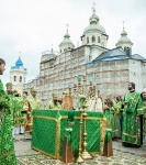 В день памяти преподобного Арсения Коневского состоялось открытие юбилейных торжеств 625-летия Коневского Рождество-Богородичного монастыря_5