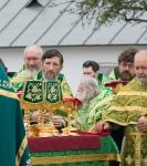 Настоятель, духовенство  и прихожане петербургского подворья Коневского монастыря  приняли   участие в открытии юбилейных торжеств 625-летия обители на Коневце_15