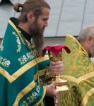 Настоятель, духовенство  и прихожане петербургского подворья Коневского монастыря  приняли   участие в открытии юбилейных торжеств 625-летия обители на Коневце_16