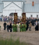Настоятель, духовенство  и прихожане петербургского подворья Коневского монастыря  приняли   участие в открытии юбилейных торжеств 625-летия обители на Коневце_24