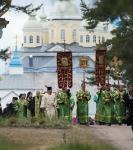 Настоятель, духовенство  и прихожане петербургского подворья Коневского монастыря  приняли   участие в открытии юбилейных торжеств 625-летия обители на Коневце_25