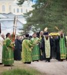 Настоятель, духовенство  и прихожане петербургского подворья Коневского монастыря  приняли   участие в открытии юбилейных торжеств 625-летия обители на Коневце_26