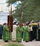 Настоятель, духовенство  и прихожане петербургского подворья Коневского монастыря  приняли   участие в открытии юбилейных торжеств 625-летия обители на Коневце_27