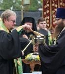 Настоятель, духовенство  и прихожане петербургского подворья Коневского монастыря  приняли   участие в открытии юбилейных торжеств 625-летия обители на Коневце_32