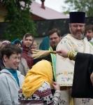 Настоятель, духовенство  и прихожане петербургского подворья Коневского монастыря  приняли   участие в открытии юбилейных торжеств 625-летия обители на Коневце_34