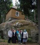 Настоятель, духовенство  и прихожане петербургского подворья Коневского монастыря  приняли   участие в открытии юбилейных торжеств 625-летия обители на Коневце_36