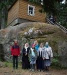 Настоятель, духовенство  и прихожане петербургского подворья Коневского монастыря  приняли   участие в открытии юбилейных торжеств 625-летия обители на Коневце_37