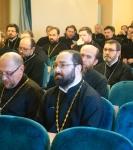 Настоятель и клирики петербургского подворья Коневской обители принимают участие в курсах повышения квалификации духовенства епархии.