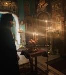 На петербургском подворье Коневской обители совершен чин изнесения Креста и иные уставные богослужения Недели Крестопоклонной_2