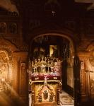 На петербургском подворье Коневской обители совершен чин изнесения Креста и иные уставные богослужения Недели Крестопоклонной_5