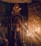 На петербургском подворье Коневской обители совершен чин изнесения Креста и иные уставные богослужения Недели Крестопоклонной_6