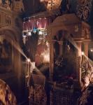 На петербургском подворье Коневской обители совершен чин изнесения Креста и иные уставные богослужения Недели Крестопоклонной_7