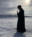 Настоятель петербургского подворья Коневской обители сопровождает епископа Выборгского и Приозерского Игнатия в поездке на Коневец