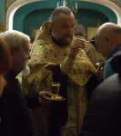 Богослужения второй Недели Великого поста совершены на петербургском подворье Коневского монастыря. Всенощную возглавил наместник обители.