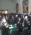 Настоятель Подворья иеромонах Давид (Алексеев) принял участие в заседаниях Круглого стола