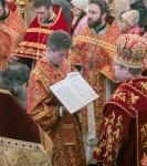 Наместник Коневского монастыря и настоятель петербургского подворья обители сослужили епископу Выборгскому и Приозерскому Игнатию за Литургией в день его тезоименитства