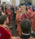 Наместник Коневского монастыря и настоятель петербургского подворья обители сослужили епископу Выборгскому и Приозерскому Игнатию за Литургией в день его тезоименитства _6
