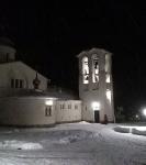 Наместник Коневского  монастыря игумен Александр (Арва) и настоятель Коневского подворья иеромонах Давид (Алексеев) приняли участие в